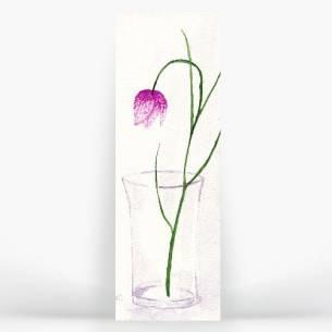 flor en jarrón