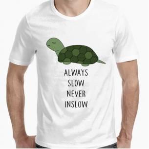 Slow Tortoise white