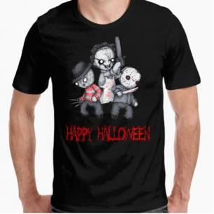 Camiseta Halloween Feliz