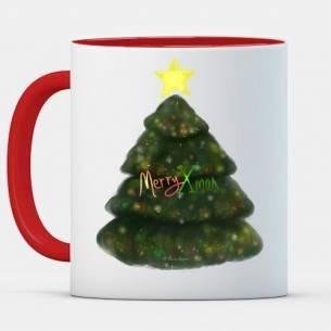 taza de navidad