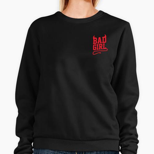 https://media3.positivos.com/169277-thickbox/sudadera-sin-capucha-de-mujer-bad-girl.jpg