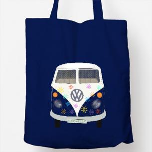Bolsa con furgo hippie