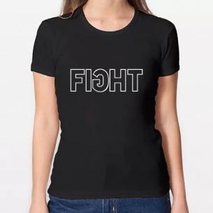 Fight camiseta mujer