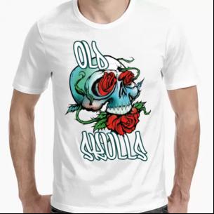 Camiseta Positivos Old Skulls