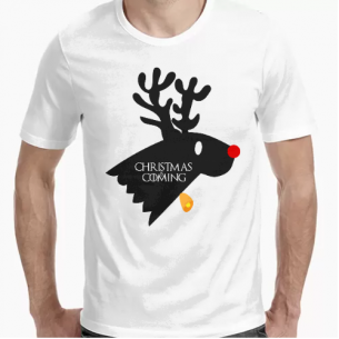 Camiseta Christmas Is Coming (Game Of Thrones)