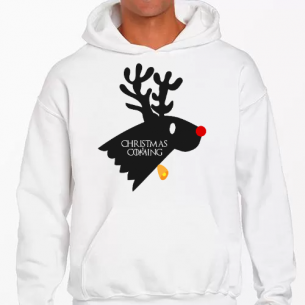 Sudadera Christmas Is Coming (Game Of Thrones)