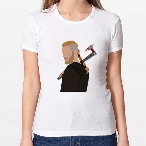 Camiseta Minimalista Ragnar Lothbrok Vikings [Vikingos]